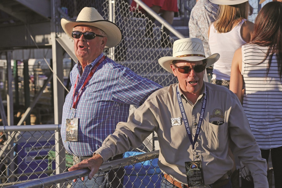 Alan Kingsley and Alex Davis - Reno Rodeo Members