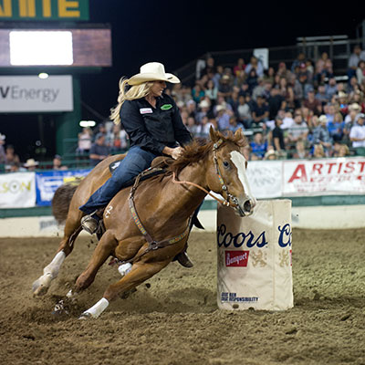 Barrel Racing - Reno Rodeo