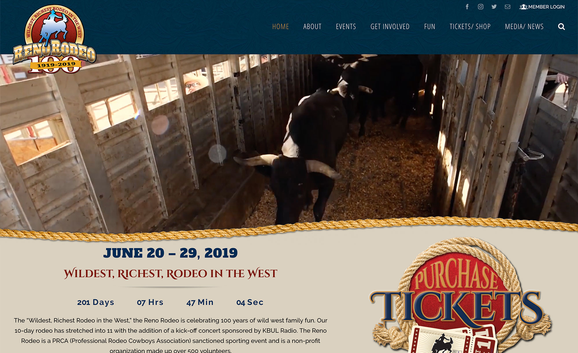 Reno Calendar Of Events 2019 Reno Rodeo   See you Next Year   June 18 27, 2020